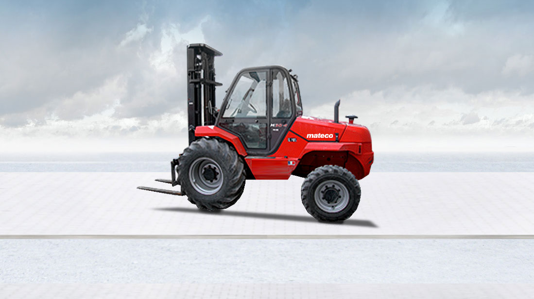 Off-road forklifts